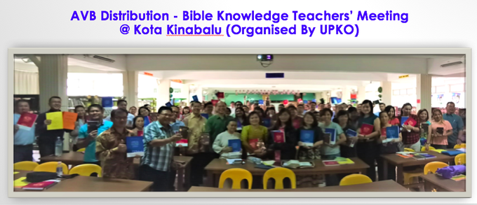 AVB Distribution to BK Teachers Kota Kinabalu