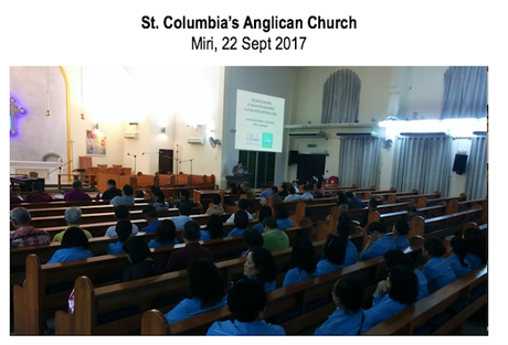 Launch at St Columbus Anglican Church